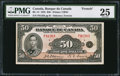 Canadian Currency: , BC-14 $50 1935.. ...