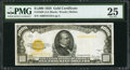 Small Size:Gold Certificates, Fr. 2408 $1,000 1928 Gold Certificate. PMG Very Fine 25.. ...