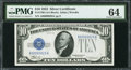 Small Size:Silver Certificates, Fr. 1700 $10 1933 Silver Certificate. PMG Choice Uncirculated 64.. ...