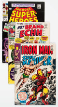 Bronze Age (1970-1979):Miscellaneous, Comic Books - Assorted Silver-Modern Age Group of 41 (VariousPublishers, 1960s-90s) Condition: Average VG/FN.... (Total: 41Comic Books)