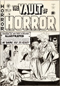 Original Comic Art:Covers, Johnny Craig Vault of Horror #14 Cover Original Art (EC,1950)....