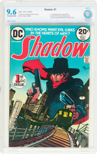 The Shadow #1 (DC, 1973) CBCS NM+ 9.6 Off-white to white pages