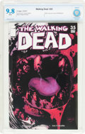 Modern Age (1980-Present):Horror, The Walking Dead #35 (Image, 2007) CBCS NM/MT 9.8 White pages....