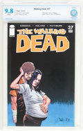 Modern Age (1980-Present):Horror, The Walking Dead #37 (Image, 2007) CBCS NM/MT 9.8 White pages....