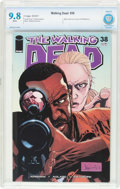 Modern Age (1980-Present):Horror, The Walking Dead #38 (Image, 2007) CBCS NM/MT 9.8 White pages....