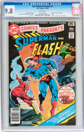 Bronze Age (1970-1979):Superhero, DC Comics Presents #1 Superman and The Flash (DC, 1978) CGC NM/MT9.8 White pages....
