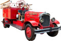 Memorabilia:Miscellaneous, Seagrave-Type Fire Engine (c. 1940s)....