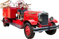 Seagrave-Type Fire Engine (c. 1940s)