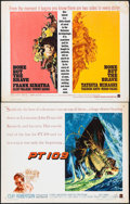 "Movie Posters:War, PT 109 & Others Lot (Warner Brothers, 1963). Half Sheets (3)(22"" X 28""). War.. ... (Total: 3 Items)"