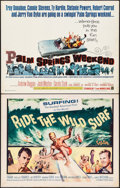 "Movie Posters:Sports, Ride the Wild Surf & Other Lot (Columbia, 1964). Half Sheets (2) (22"" X 28""). Sports.. ... (Total: 2 Items)"