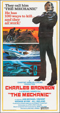 """Movie Posters:Action, The Mechanic (United Artists, 1972). International Three Sheet (41""""X 79""""). Action.. ..."""