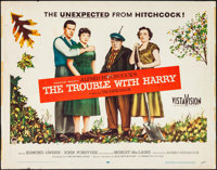 "The Trouble with Harry (Paramount, 1955). Half Sheet (22"" X 28""). Hitchcock"
