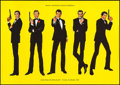 """Movie Posters:James Bond, James Bond Poster Lot (Various, 1983-2008). German Museum Posters (4) (23.5"""" X 33"""" & 23.75"""" X 33""""), & Posters (5) (17""""-22"""" X... (Total: 9 Items)"""