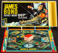 "Movie Posters:James Bond, James Bond Secret Agent 007 Game & Other Lot (Milton Bradley,1964). Board Game (9.5"" X 19"" X 1.5"") & Unopened 150 PieceJig... (Total: 3 Items)"