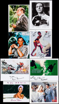 "Movie Posters:James Bond, James Bond Autograph Lot (1990s-2000s). Reproduction Photos & Prints (19) (Approx. 7"" X 9"" - 8.5"" X 11""). James Bond.. ... (Total: 19 Items)"