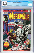 Bronze Age (1970-1979):Horror, Werewolf by Night #32 (Marvel, 1975) CGC NM- 9.2 White pages....