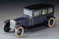 , A Rare William Crawford & Sons Rolls-Royce Limousine BiscuitTin, circa 1929. 5 x 4-3/8 x 11-1/2 inches (12.7 x 11.1 x 29.2 ...