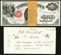 Large Size:Legal Tender Notes, Fr. 39 $1 1917 Legal Tender Original Consecutive Group of 25 VeryChoice New.. ...