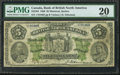 Canadian Currency: , Montreal, PQ- Bank of British North America $5 May 28, 1886 Ch. #55-22-04. ...