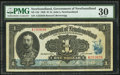 Canadian Currency: , St. John's NF- Government of Newfoundland $1 Jan. 2, 1920 Ch #NF-12d.. ...