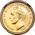 Great Britain, Great Britain: George VI 4-Piece NGC-Certified Gold Proof Set1937,... (Total: 4 coins)