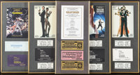 Goldfinger & Others Lot (Creation Entertainment, R-1994). Autographed Framed 30th Anniversary Program with Event...