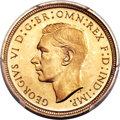 Great Britain, Great Britain: George VI 4-Piece PCGS-Certified Gold Proof Set1937,... (Total: 4 coins)