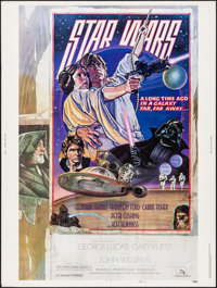 """Star Wars (20th Century Fox, 1978). Poster (30"""" X 40"""") Style D. Science Fiction"""