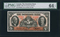 Canadian Currency: , Toronto, ON- Dominion Bank $5 Jan. 3, 1938 Ch. # 220-28-02.. ...