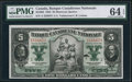 Canadian Currency: , Montreal, PQ- Banque Canadienne Nationale $5 Feb. 1, 1925 Ch. #85-10-02.. ...