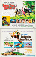 "Movie Posters:Animation, Bedknobs and Broomsticks & Others Lot (Buena Vista, 1971). Half Sheets (10) (22"" X 28""). Animation.. ... (Total: 10 Items)"