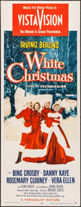 "Movie Posters:Musical, White Christmas (Paramount, 1954). Insert (14"" X 36""). Musical....."