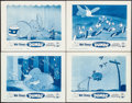 """Movie Posters:Animation, Dumbo (Buena Vista, R-1959). Lobby Card Set of 4 (11"""" X 14"""").Animation.. ... (Total: 4 Items)"""