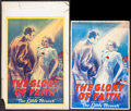 """Movie Posters:Drama, The Glory of Faith (French Film Exchange, 1937). Window Card (14"""" X 22"""") & Uncut Pressbook (6 Pages, 12"""" X 18""""). Drama.. ... (Total: 2 Items)"""