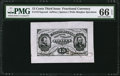 Fractional Currency:Third Issue, Fr. 1274SP 15¢ Third Issue Wide Margin Face PMG Gem Uncirculated 66 EPQ.. ...