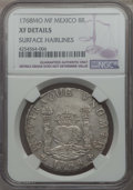 Mexico, Mexico: Charles III 8 Reales 1768 Mo-MF XF Details (SurfaceHairlines) NGC,...
