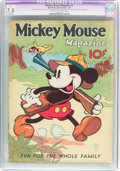 Platinum Age (1897-1937):Miscellaneous, Mickey Mouse Magazine #7 (K. K. Publications/Western PublishingCo., 1936) CGC Apparent FN/VF 7.0 Slight (P) Cream to off-whit...