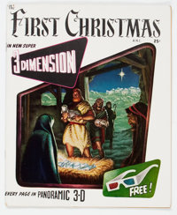 The First Christmas #nn (Fiction House, 1953) Condition: VG/FN