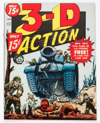 3-D Action #1 (Atlas, 1954) Condition: VG