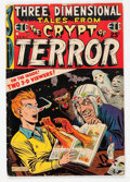 Golden Age (1938-1955):Horror, Three Dimensional Tales from the Crypt of Terror #2 Double Cover(EC, 1954) Condition: GD/VG....