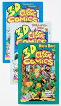 Modern Age (1980-Present):Miscellaneous, 3-D Classic Comics Group of 12 (Interplay Inc., 1990s).... (Total: 12 Comic Books)