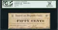 Obsoletes By State:Arkansas, Monticello, AR- Corporation of Monticello 50¢ June 2, 1862 Rothert 495-1. ...