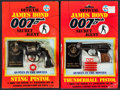 "Movie Posters:James Bond, James Bond Cap Pistols (Coibel, 1985). Cap Pistols in OriginalPackaging (2) (7.5"" X 11.5""). James Bond.. ... (Total: 2 Items)"