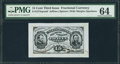Fractional Currency:Third Issue, Fr. 1274SP 15¢ Third Issue Wide Margin Face PMG Choice Uncirculated 64.. ...