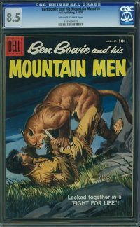 Ben Bowie and His Mountain Men #16 (Dell, 1958) CGC VF+ 8.5 Off-white to white pages