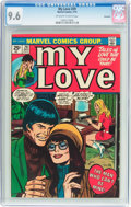 Bronze Age (1970-1979):Romance, My Love #29 Savannah Pedigree (Marvel, 1974) CGC NM+ 9.6 Off-whiteto white pages....
