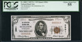 National Bank Notes:Pennsylvania, Bethlehem, PA - $5 1929 Ty. 1 The Bethlehem NB Ch. # 3961. ...
