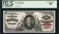 Large Size:Silver Certificates, Fr. 318 $20 1891 Silver Certificate PCGS Extremely Fine 40.. ...