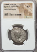 Ancients:Roman Provincial , Ancients: SYRIA. Antioch. Gordian III (AD 238-244). BI tetradrachm.NGC XF....