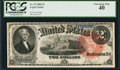 Large Size:Legal Tender Notes, Fr. 53 $2 1880 Legal Tender PCGS Extremely Fine 40.. ...